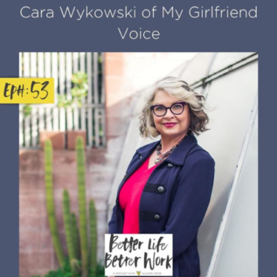 Cara Wykowski of My Girlfriend Voice