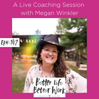 A Live Coaching Session with Megan Winkler